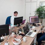 福岡のホームページ制作会社 アイドットデザインさん にお邪魔しました!