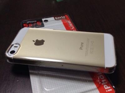 セリアさんのiPhone 5/5s 用のクリアーケースが素晴らしい!