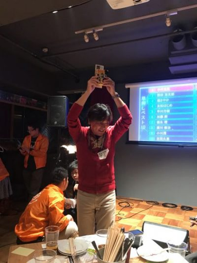 ブービー賞の末包さん おめでとうございます!
