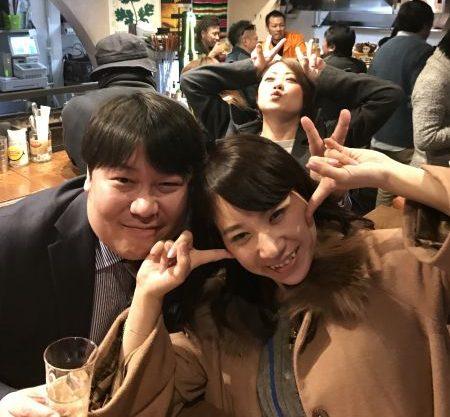 うえつさん と 西口さん