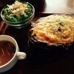 福岡 大名のキャット アンド フィッシュの焼きチーズカレー