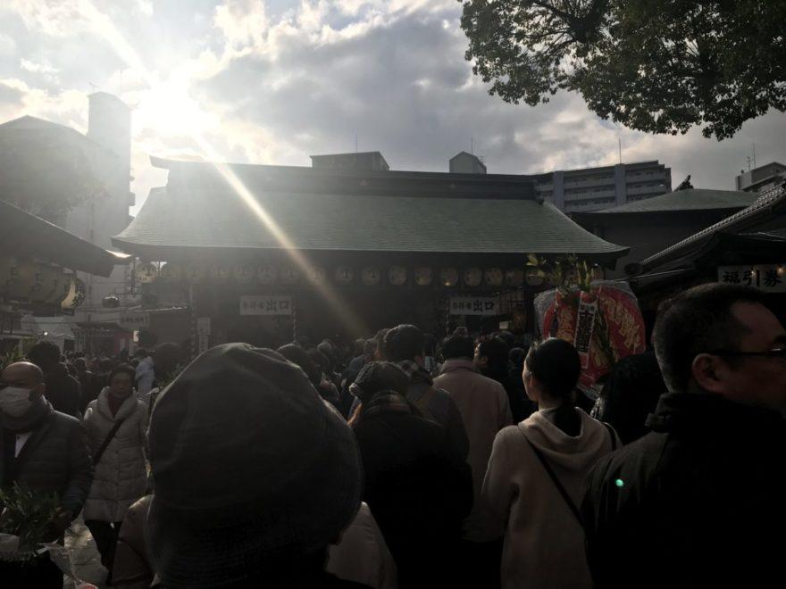 十日恵比須神社参道
