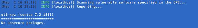 VULS 脆弱性テスト結果