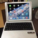 iPad Air に Bluetoothキーボード付きケース買ってみた